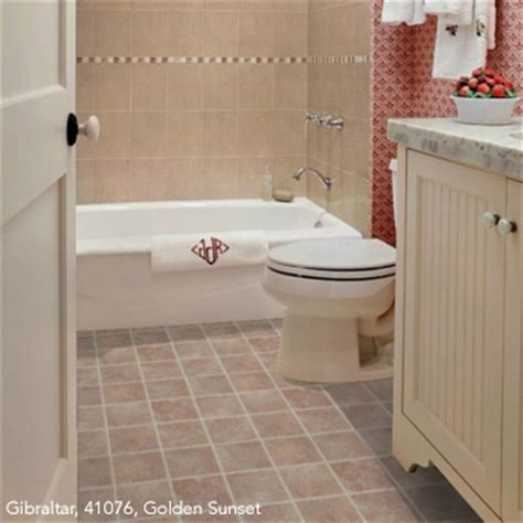 vinyl flooring bathroom ideas bathrooms flooring idea 174 gibraltar by