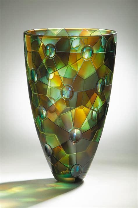 Art Glass Vases And Bowls Kevin Gordon Art Glass Bowls And Vases Pinterest