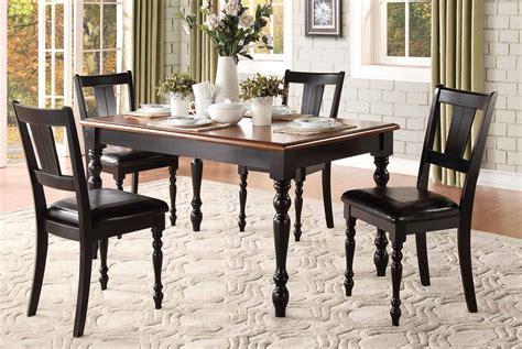 homelegance laurel grove dining set black cherry 5148 dining set at homelement