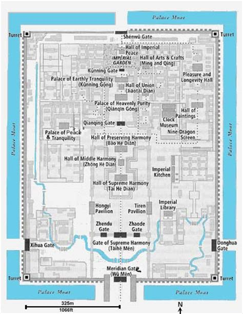 map of chions gate florida forbidden city beijing
