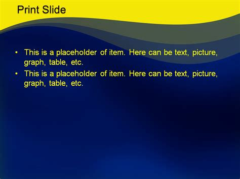 powerpoint templates free download yellow download free yellow wave powerpoint template for your
