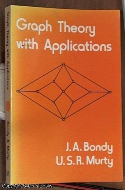 applying graph theory in ecological research books graph theory with applications by bondy adrian