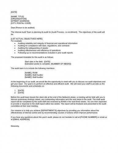 Request For Audit Cover Letter Business Letter Format Sle Business Letter