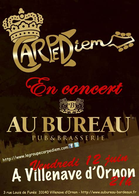 Au Bureau Bordeaux Villenave D Ornon Carpe Diem Pulse80 Au Bureau Bordeaux