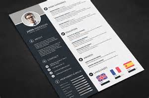 Cv Template Best by Professional Resume Cv Template Free Psd Files