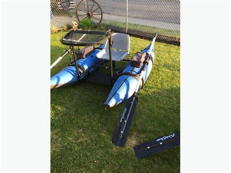 pontoon boats for sale regina forsale or trade water skeeter double take inflatable