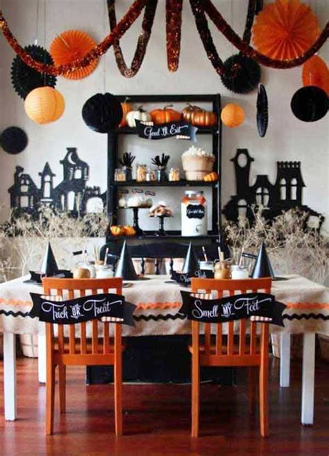 Beautiful Dining Table Setting Ideas #9: Halloween-party-table-decorations.jpg