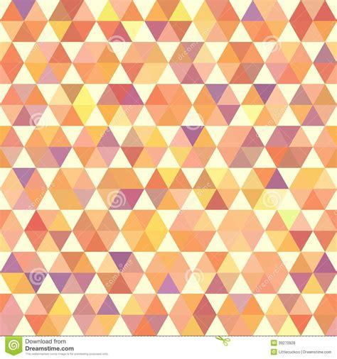 geometric pattern orange retro orange pattern of geometric shapes stock vector