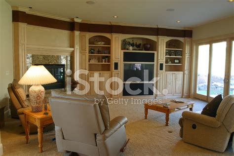 furnished living rooms interior of a stylish furnished living room stock photos freeimages