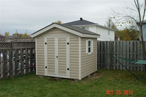 Vinyl Siding Sheds by How To Build A Shed Door With Vinyl Siding Free Shed