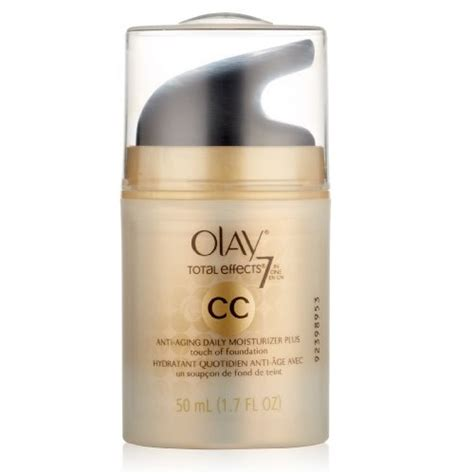 Olay Total Effect Touch Of Foundation olay cc total effects daily moisturizer plus touch