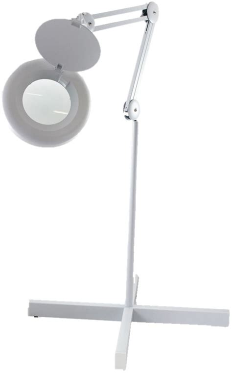 Floor Standing Magnifier L by Deskstand Led Magnifier 3x Cambridge Optics