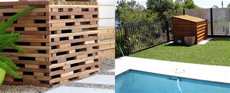 top   pool equipment cover ideas concealed designs