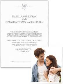 twilight wedding invitation card twilight wedding inspired greeting cards now available