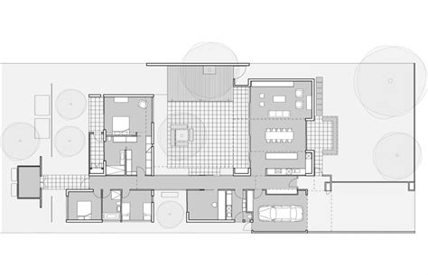 architecture home plans hamilton courtyard house australian design review