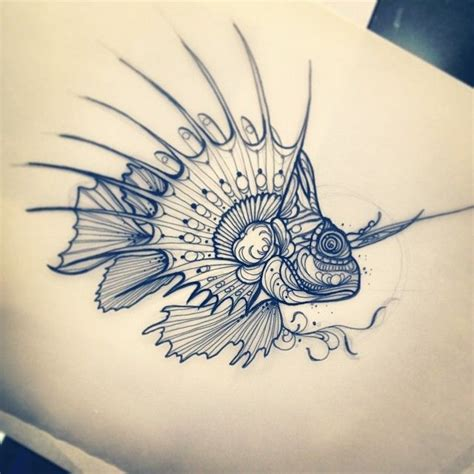 lionfish tattoo designs lionfish for berlin cool cars motorcycles