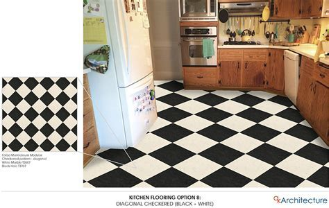 Diana's 10   yes, ten!   kitchen floor tile pattern