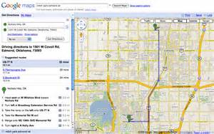 driving map of driving directions maps mapquest images