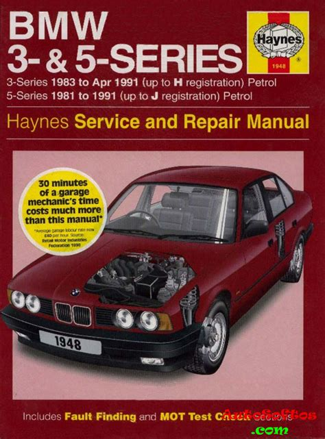 Bmw 1 Series Repair Manual Pdf by Bmw 3 5 Series Service And Repair Manual Haynes 1997