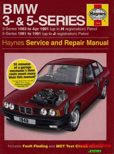 Bmw 1 Series Haynes Manual Pdf by Bmw 3 5 Series Service And Repair Manual Haynes 1997