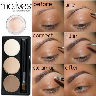 1000 ideas about different eyebrow shapes on