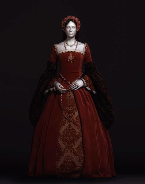 Tudor Wardrobe by Dolls Houses And Miniatures Tudor Dress