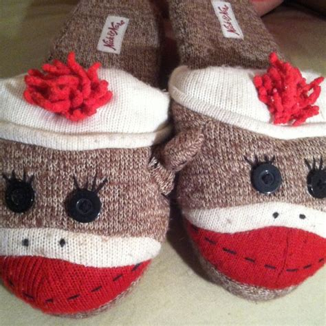 sock monkey house shoes target sock monkey slippers from abigail s closet on poshmark