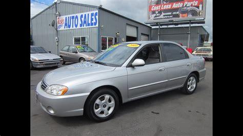 2003 kia spectra for sale 2003 kia spectra ls sedan sold