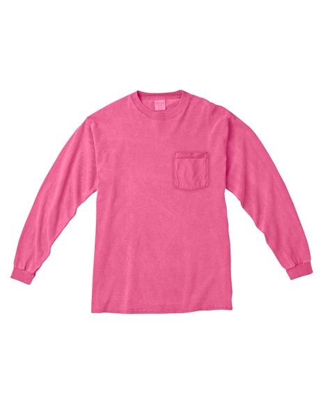 C4410 Tee Shirt Comfort Colors Chouinard Long Sleeve