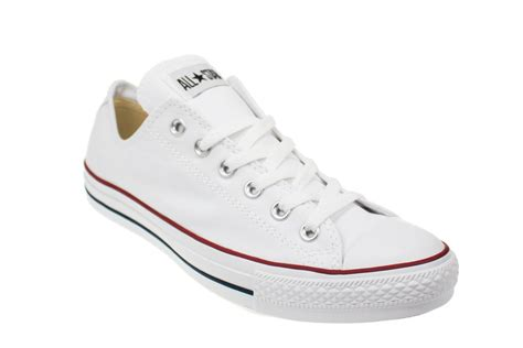 all white mens sneakers converse all lo white canvas trainers sneakers shoes
