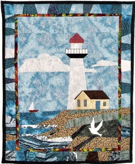 quilt pattern lighthouse seashore quilts quilting gallery