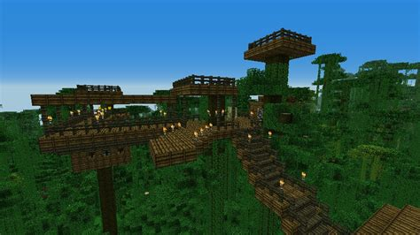 how to make a cool treehouse in minecraft tree house survival minecraft project