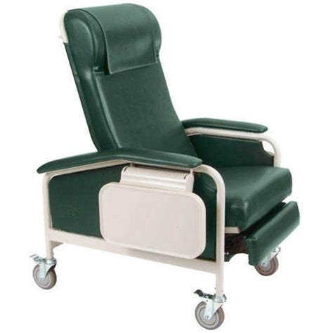 recliner with tray clinical chair winco