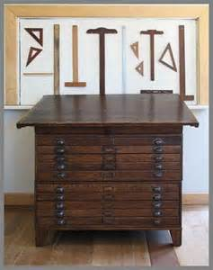 Custom Drafting Table Made Restored Antique Map File Drafting Table By Kate Matthews And Company Custommade
