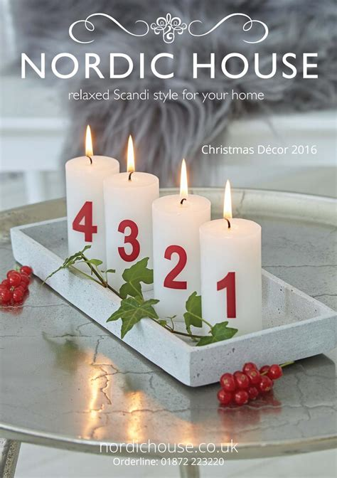 festive season entertaining d 233 cor inspiration by a nordic house christmas d 233 cor 2016 by nordic house issuu