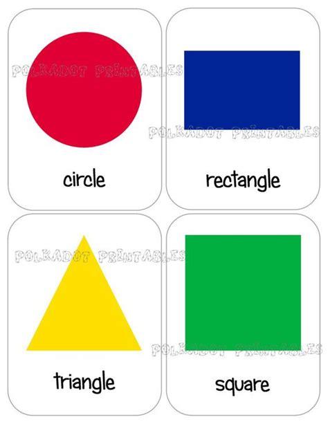 printable spanish shapes flash cards printable shape flashcards set of 12 instant download