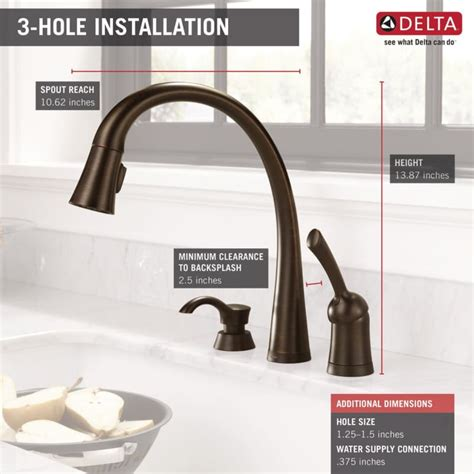 delta 980t sd dst pilar 1 handle kitchen faucet touch2o faucet com 980t sssd dst in brilliance stainless by delta