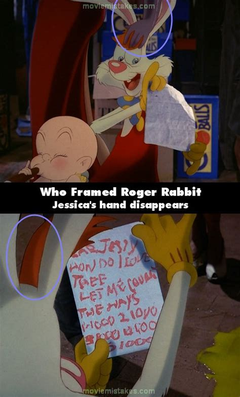 roger rabbit quotes who framed roger rabbit 1988 mistake picture id