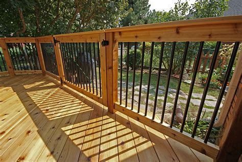 deck railing aluminum balusters search house