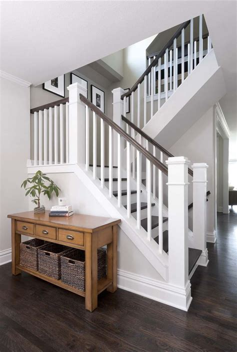 how to paint a banister wood stair railings interior good wrought iron stair