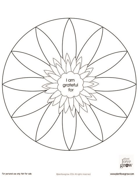 printable turkey mandala some gratitude mandalas to color and fill there are two