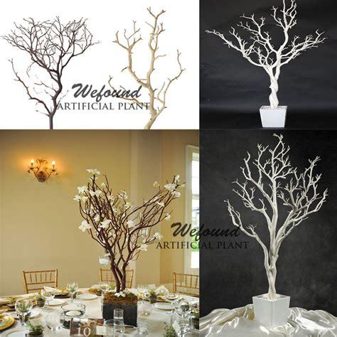 29'' crystal siver Wedding table centerpiece manzanita tree, View crystal wedding trees, WEFOUND