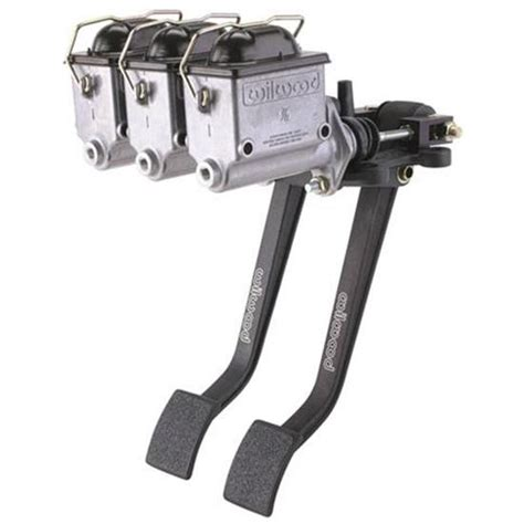 swing pedals wilwood reverse swing triple master cylinder pedal 6 2 1