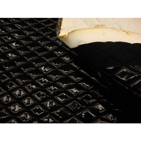 fabric foam upholstery supplies black patent quilted vinyl fabric with 3 8 quot foam backing