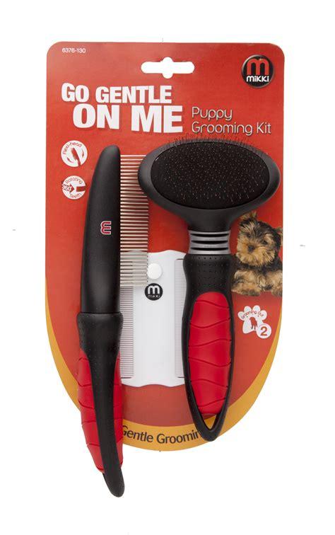 grooming kit mikki puppy grooming kit