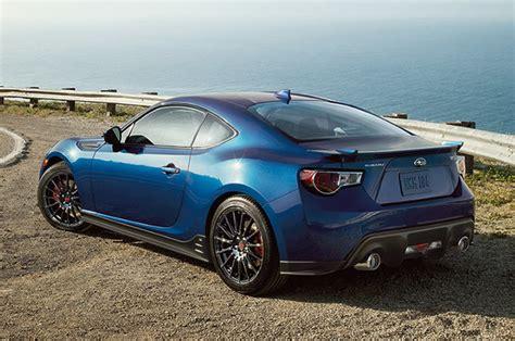 subaru brz limited 2015 subaru brz gets updates limited edition series blue model
