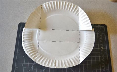Paper Plate Basket Craft - how to make a paper plate treat basket factory direct