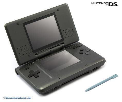 ds nintendo console nintendo ds console black graphite incl power supply