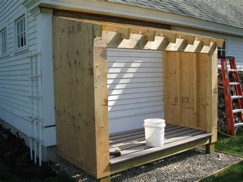 building a wood shed a concord carpenter