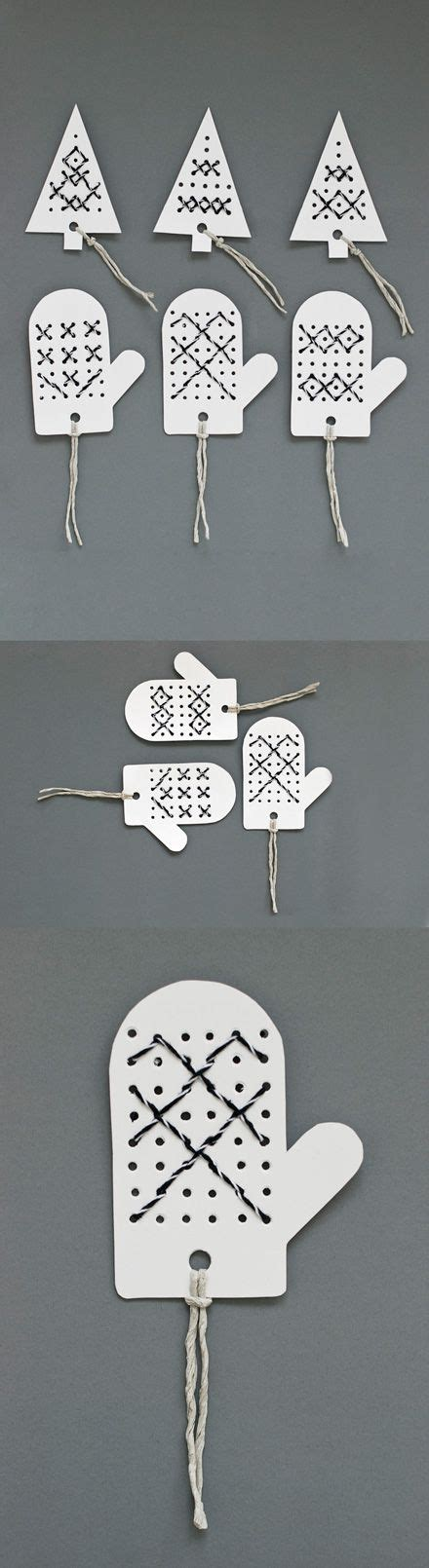 Pre Punched Paper For Crafts - gift tags or toppers made by stitching bakers